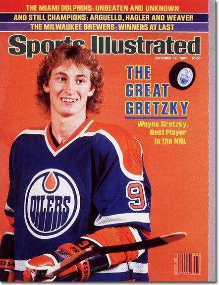 Wayne Gretzky, Hockey, Edmonton Oilers - 10.12.81 - SI Vault