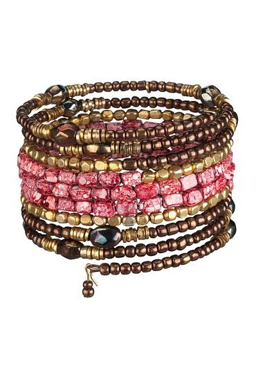 Coral Coil Bracelet available at #Maurices