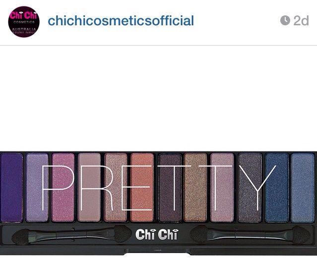 Chi Chi Eyeshadow palettes