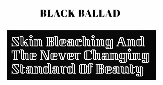 Over on @blackballaduk find out what our founder Bianca Estelle had to say about skin bleaching and lightening, its stigma and the safer methods for achieving a radiant complexion…