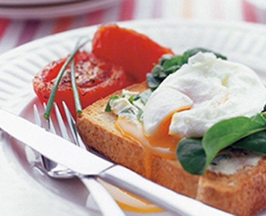 Poached Eggs on Thick PHILLY | PHILADELPHIA #recipes #simplerecipes
