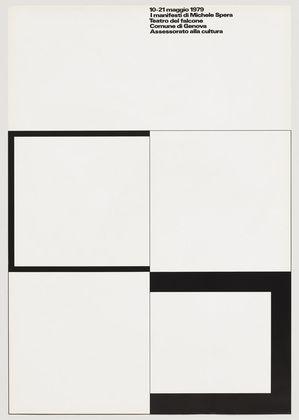A. G. Fronzoni. I Manifesti di Michele Spera. 1979