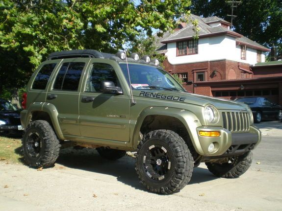 Lift Kits For Jeeps >> - Swamp Thing: 2003 Liberty Renegade KJ, Custom 5.5 Inch Lift, 32's ... | Silly boy! Jeeps are ...