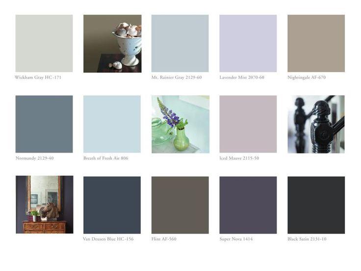 Benjamin Moore Color Trends 2014