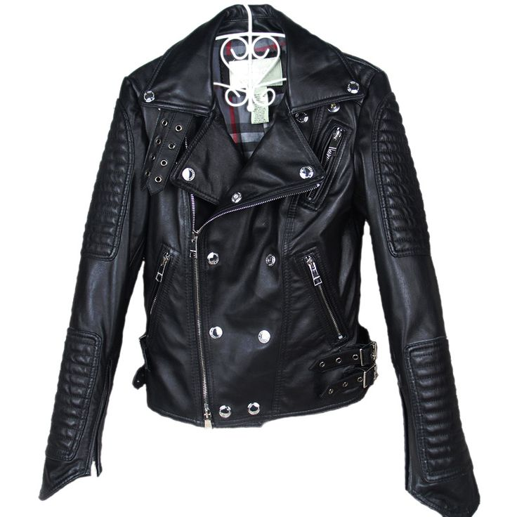 Find More Leather & Suede Information about Factory Genuine Leather Jacket Women Real Sheepskin Fashion Classical Short Punk Rock Motorcycle Biker Female Coat Jaqueta ZH070,High Quality motorcycle fender,China motorcycle foam Suppliers, Cheap coat vintage from Mosiriva on Aliexpress.com