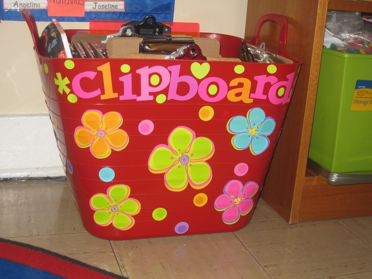 25  best ideas about clipboard storage on pinterest