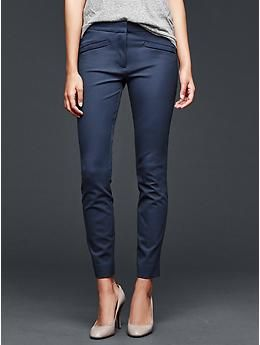 Ultra skinny zip pants | Gap