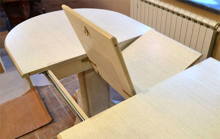 Раскладной деревянный стол для кухни своими руками