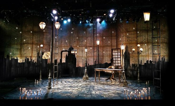 A Christmas Carol. Capital Repertory Theatre. Scenic Design by ...
