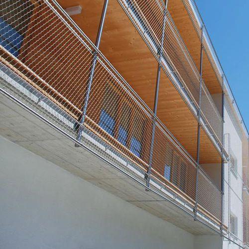 Malla metálica para fachada / para barandilla / para tejado / de acero inoxidable WEBNET N5 JAKOB FRANCE