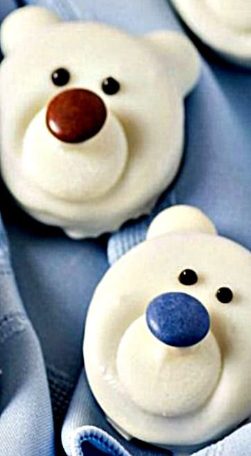 Polar Bear Cookies ❊