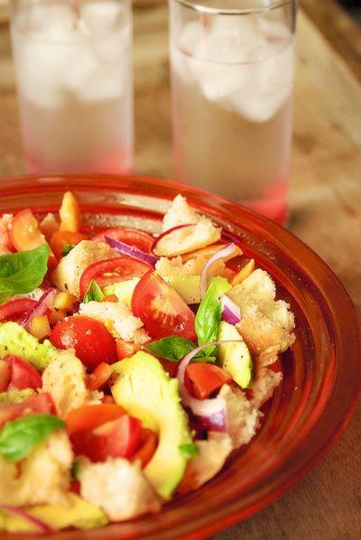 insalata panzanella/Toscaanse zomersla