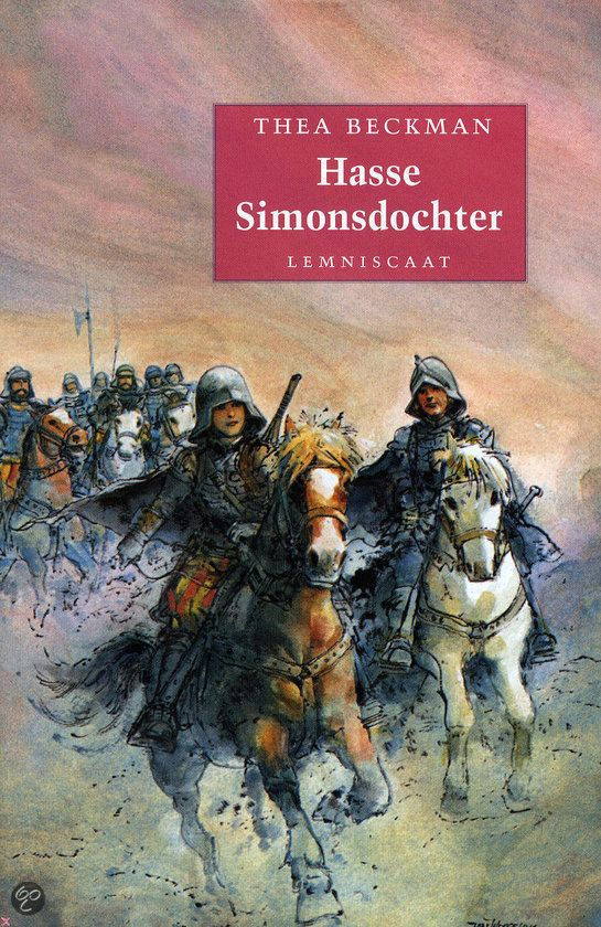 Hasse Simonsdochter, Thea Beckman. I named my daughter after the main character in this book, Hasse.