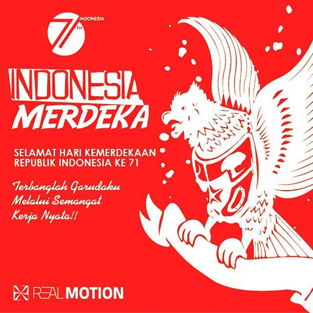 Saatnya jiwa-jiwa muda yg berjuang utk memerdekakan org lain,Jayalah Indonesiaku, Dirgahayu ke 71. Indonesia Kerja Nyata!! . . . . . . . . . . . . . . #2dvideo #infographic #explainervideo #realmotion3d #indonesiavideography #jasavideo #jasadesign #jasaphotobooth #jasaexplainervideo #lapan #satelite #videoedit #indonesia #animasi #explainervideo #komersial #comercial #tvc #iklan #hutindonesia #dirgahayu71