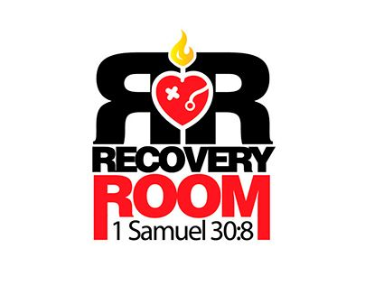 """LOGOTYPE """"RECOVERY ROOM"""" for OTR MINISTRIES EE.UU."""
