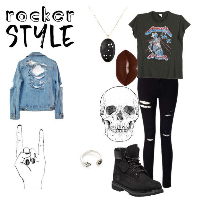 """""""Rock Chique~Contest"""" by nswsara ❤ liked on Polyvore featuring Miss Selfridge, Timberland, Venyx, High Heels Suicide, MadeWorn, Pamela Love, rockerchic and rockerstyle"""