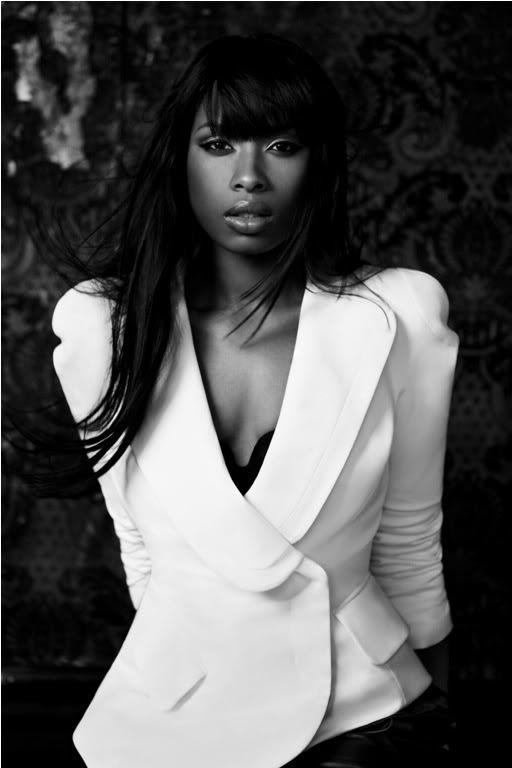 3. Famous Jennifer - Jennifer Hudson  Love this Jacket   repinned by thecelestinecollection.com