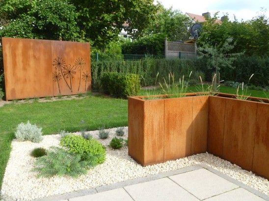 die 25+ besten cortenstahl ideen auf pinterest, Gartengestaltung