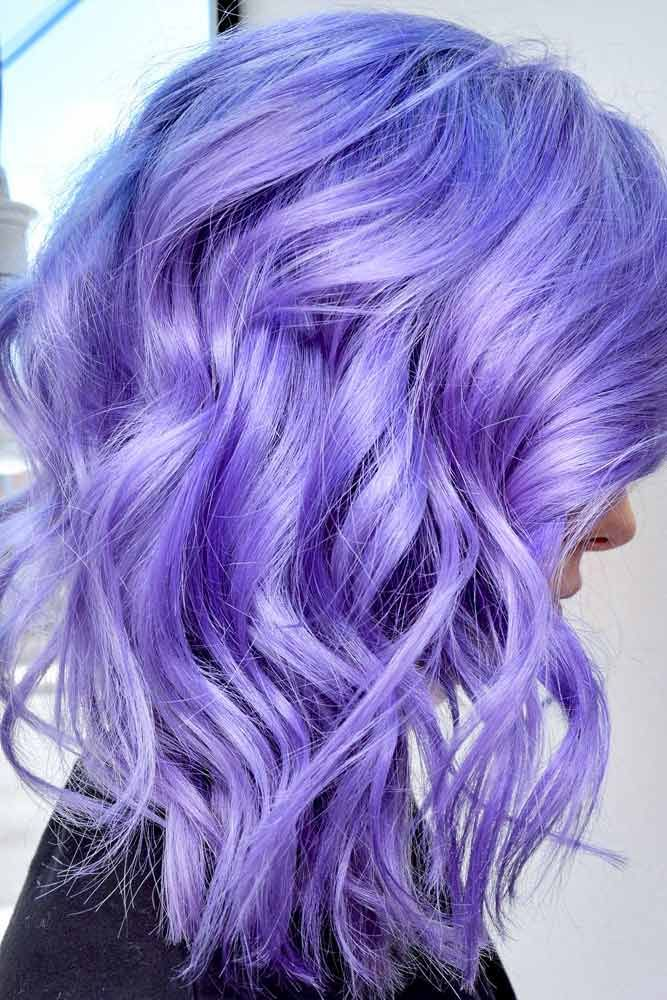 Purple Hair Shade For Trendy Look #purplehair Spring hair colors are cool and refreshing, allowing you to be trendy and …