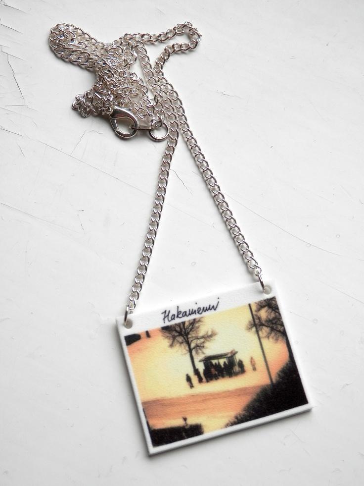 Hakaniemi -necklace. Visit:  www.retroke.blogspot.com