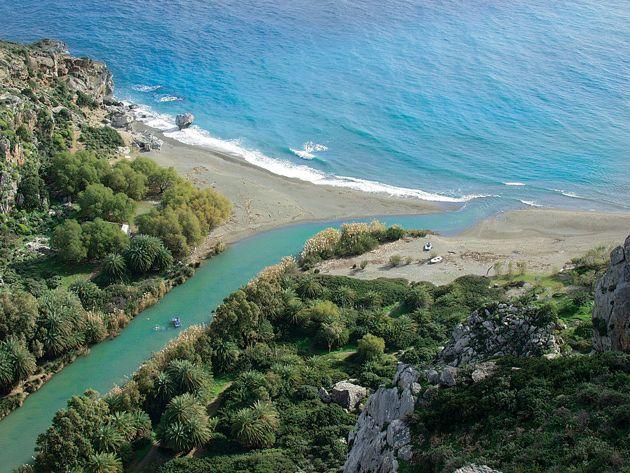Preveli beach  #rethymno #greece #crete #summer_in_crete #beach