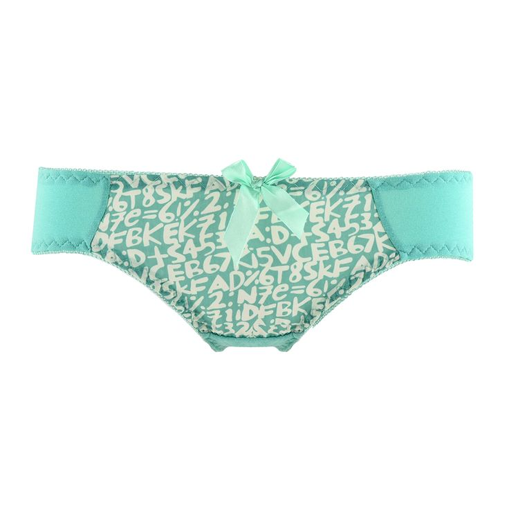 Cute-Girls-Cotton-Simple-Letter-Underpants-Bow-Comfortable-Briefs-Underwear