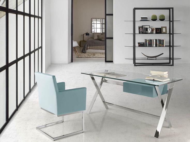 M s de 25 ideas incre bles sobre mesa escritorio cristal for Fabricantes de muebles italianos