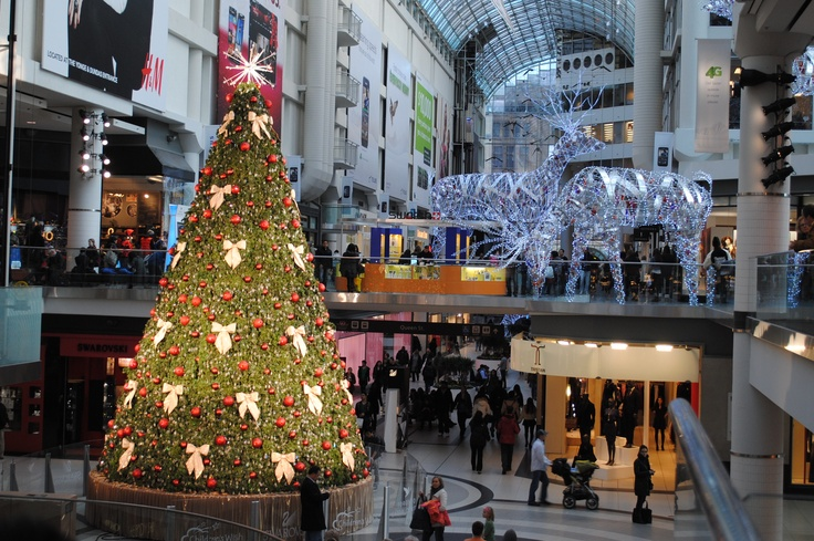 Eatons Centre, Toronto. November 2011.