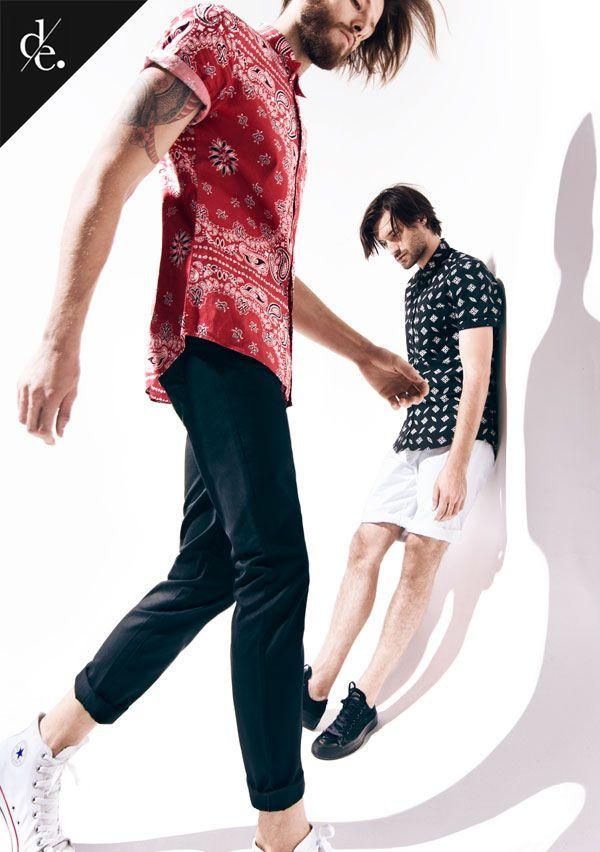 """Editorial de moda hombre: """"Gravedad"""""""