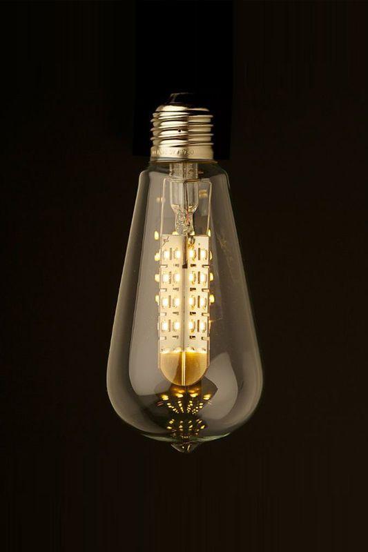Cute  watt disable teardrop LED bulb