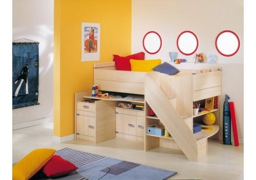 Gami Skipper Cabin Bed with Desk