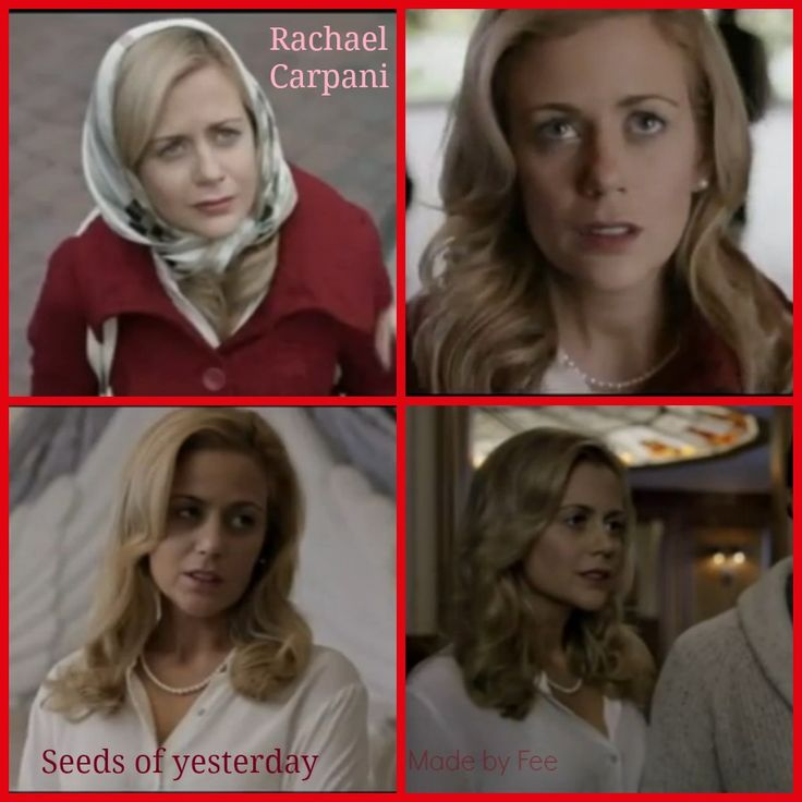 Rachael Carpani in Seeds of yesterday. Creation made by Fee.