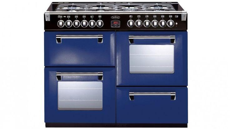 Belling 110cm Richmond Colour Boutique Dual Fuel Range Freestanding Oven - Midnight Gaze - Freestanding Cookers | Harvey Norman Australia