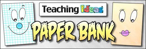Teaching Ideas Paperbank