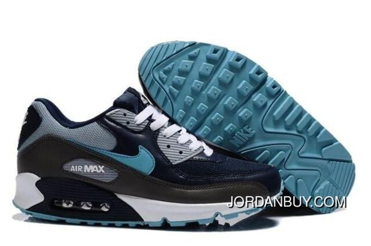 http://www.jordanbuy.com/find-newest-nike-air-max-90-men-shoes-black-blue-discount.html FIND NEWEST NIKE AIR MAX 90 MEN SHOES BLACK BLUE DISCOUNT Only $85.00 , Free Shipping!