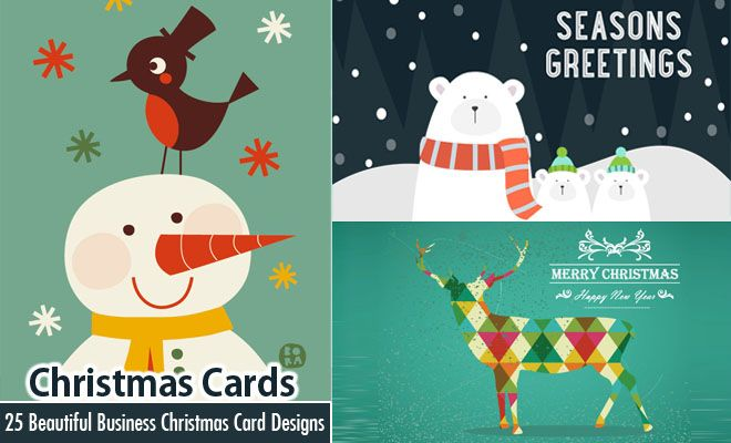 25 Beautiful Business Christmas Cards Designs for your inspiration. Read full article: http://webneel.com/business-christmas-cards-corporate | more http://webneel.com/christmas-cards | Follow us www.pinterest.com/webneel