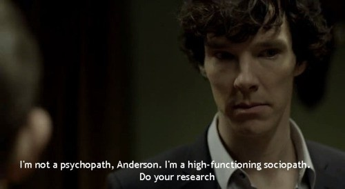 Sherlock :): Functional Sociopath, Sherlock Quotes, Holmes Bbc, Art Sherlock, Favorite Quotes, Sherlock Geekeri, Sherlock Holmes, Benedict Cumberbatch, Best Quotes