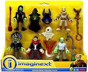 Imaginext Monster 5 Pack Figure Set