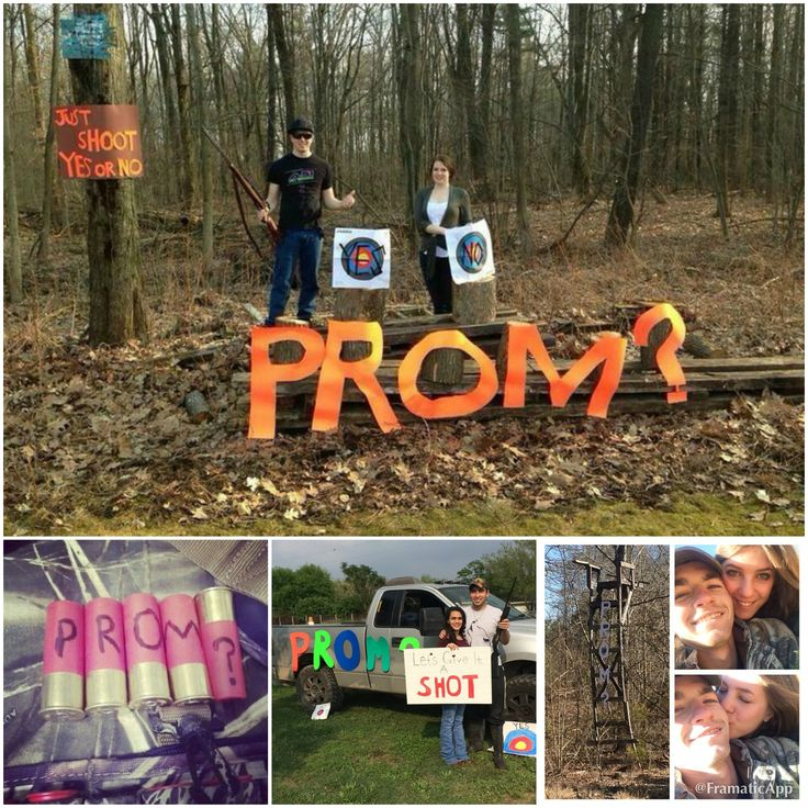 Hunting Promposal Idea