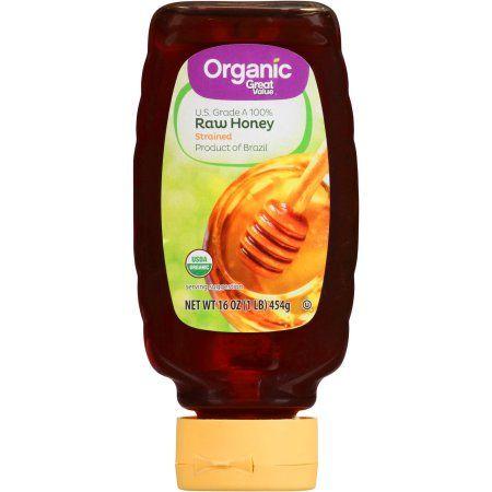 $3.95 Great Value Organic Raw Honey, 16 oz - Walmart.com