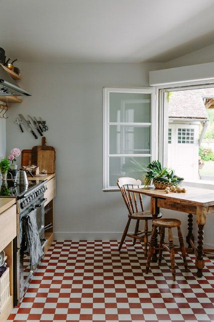 Country kitchen in France