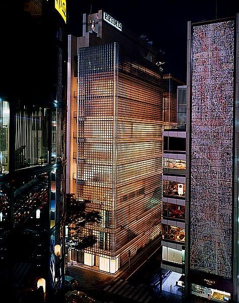 Hermès Ginza store, Tokyo.