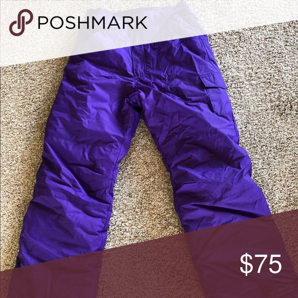 Columbia girls ski pants - perfect condition! worn once Columbia Bottoms