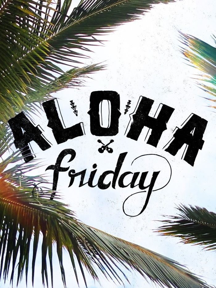 Aloha Friday! Art Print