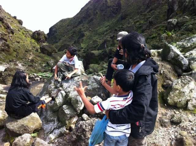 Behind Tapal kuda & Pilar Garuda sibayak