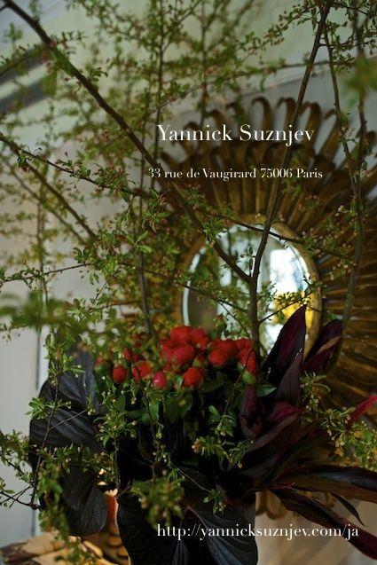 フラワーレッスン『ウエディング・アクセサリー』 の画像|Parisian Florist Yannick Suznjev