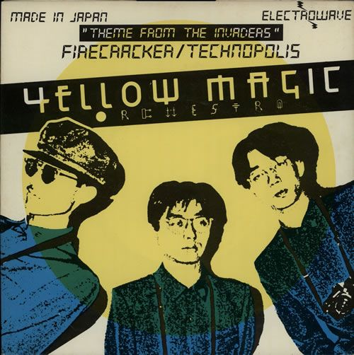 """For Sale - Yellow Magic Orchestra Firecracker UK  7"""" vinyl single (7 inch record) - See this and 250,000 other rare & vintage vinyl records, singles, LPs & CDs at http://eil.com"""