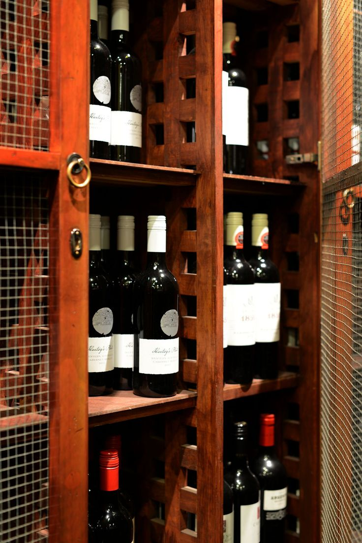 We have one of the most extensive wine lists in regional Australia.