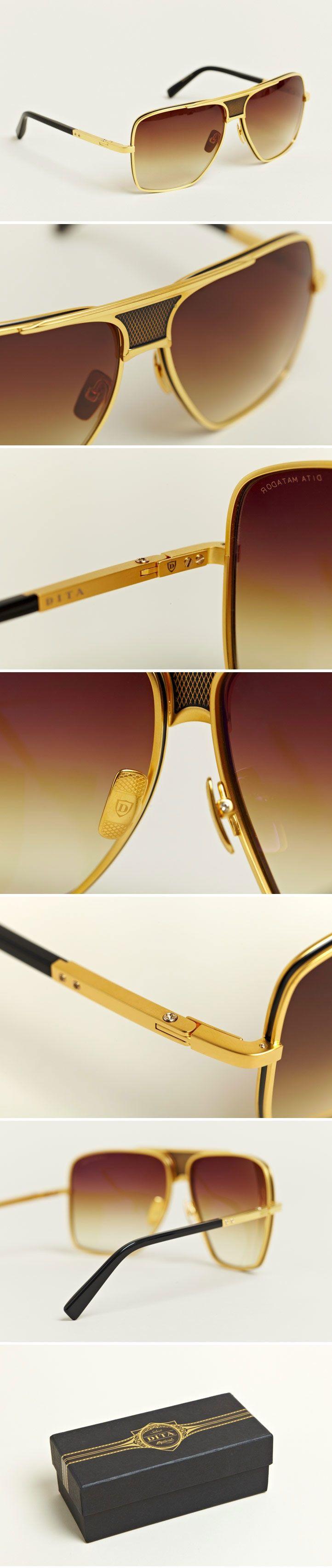 The 18K Dita Matador #DITAeyewear - www.vingerhoets-optics.be