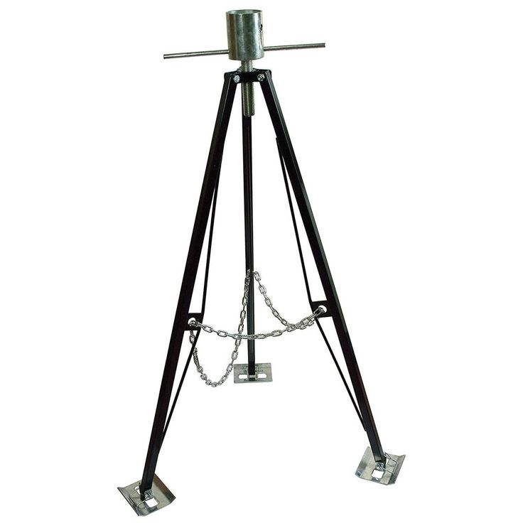 RV Steel 5th Fifth Wheel Tripod Stabilizer King Pin Box For Camper Motor Home #UltraFabProducts